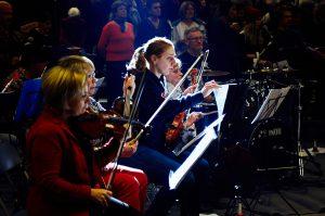 GONL Grand Orchestre National Lunaire - ZeeWolf - LouvExpo - Violons