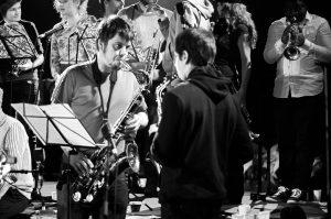 GONL Grand Orchestre National Lunaire - ZeeWolf - LouvExpo - Saxophonistes