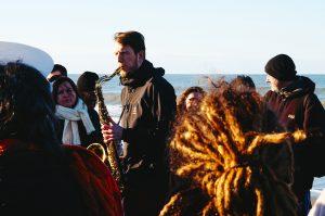 Grand Orchestre National Lunaire - GONL - Zeewolf à la plage