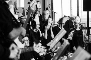 Grand Orchestre National Lunaire - GONL - Zeewolf - Répétition et concert à Oostende